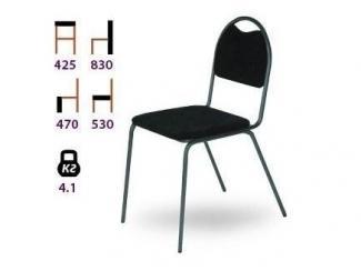Черный стул Школьник - Мебельная фабрика «Реванш СПБ»