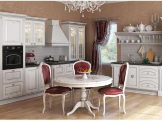 Кухня прямая Afina argentum - Мебельная фабрика «Zetta»