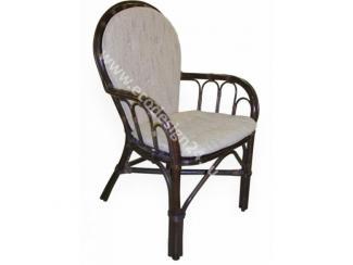 СТУЛ ИЗ РОТАНГА с подушкой арт. 04/16 Б - Импортёр мебели «ЭкоДизайн»