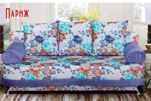 диван прямой Париж еврокнижка - Мебельная фабрика «Барокко»