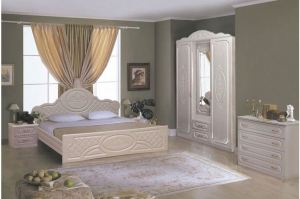 Спальня Виктория 1 - Мебельная фабрика «Аристократ»
