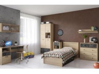 Спальня молодежная Дизель 3 - Мебельная фабрика «Анрекс»
