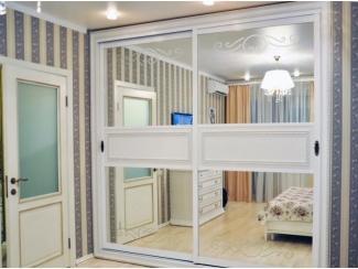 Белый шкаф-купе - Мебельная фабрика «Симбирский шкаф»