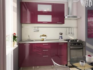 Кухня прямая Барнаби мини Пластик - Мебельная фабрика «Вариант М»