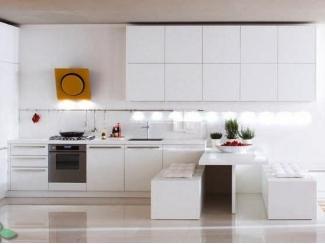 Белый кухонный гарнитур Ландыш - Мебельная фабрика «Манго»