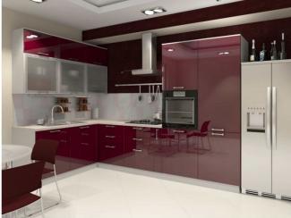 Кухня угловая Лотон пластик - Мебельная фабрика «Вариант М»