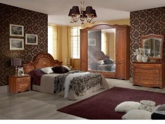 Спальный гарнитур  Рим 5П орех - Мебельная фабрика «Август»