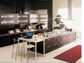 Кухонный гарнитур прямой 96 - Мебельная фабрика «Вершина комфорта»