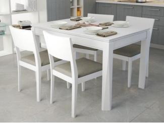 Белая обеденная группа Арион  - Мебельная фабрика «Симкор»