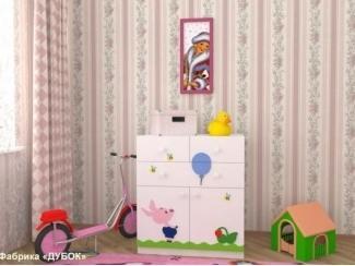 Детский комод Винни-Пух 2 - Мебельная фабрика «Дубок»