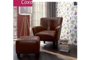 Кресло с пуфом Сохо - Мебельная фабрика «Бландо»