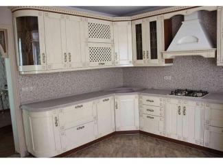 Угловая светлая кухня Модерн - Мебельная фабрика «Настоящая Мебель»