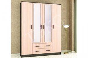 Шкаф Лагуна 016 с зеркалом - Мебельная фабрика «ТЭКС»