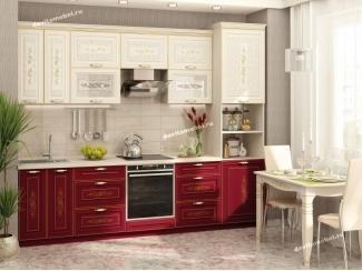 Кухонный гарнитур прямой Виктория - Мебельная фабрика «Витра»