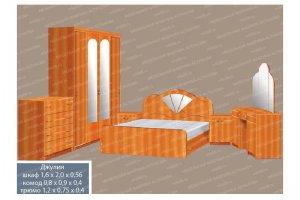 Спальный гарнитур 1 - Мебельная фабрика «МФА»