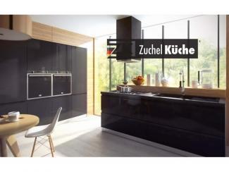 Кухонный гарнитур угловой Галле Блэк - Мебельная фабрика «Zuchel Kuche (Германия-Белоруссия)»