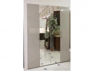 Распашной шкаф с зеркалами - Мебельная фабрика «Grol»