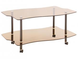 Стол журнальный Волна - Мебельная фабрика «Мебель из стекла»