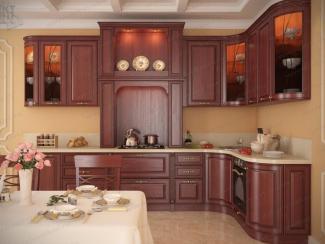 Кухня Сиена массив - Мебельная фабрика «АСТ-мебель»