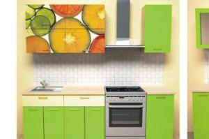 Кухонный гарнитур Цитрус зеленый - Мебельная фабрика «Союз-мебель»