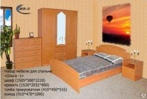 Набор мебели для спальни Ольга-1 - Мебельная фабрика «МВМ», г. Волжск