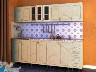 кухня прямая «Виолетта» - Мебельная фабрика «Мир мебели»
