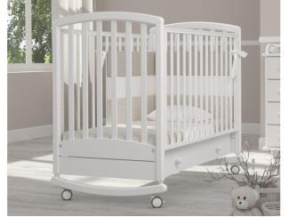Детская кроватка-качалка Гандылян Дашенька - Мебельная фабрика «Гандылян»