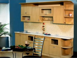 кухня прямая Классика 8 МДФ - Мебельная фабрика «Долес»