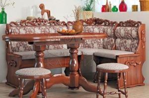 Кухонный уголок «Уют прорезной» - Мебельная фабрика «Каприз»