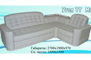 диван угловой ТТ «Матрица - 11  - Мебельная фабрика «Матрица», г. Ульяновск