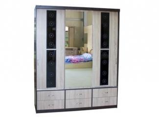 Вместительный шкаф-купе в спальню  - Мебельная фабрика «Асгард»