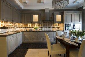 Классическая модель кухни Оливия (неоклассика) - Мебельная фабрика «Энгельсская (Эмфа)»