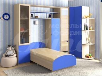 Синяя детская Ежик  - Мебельная фабрика «Ольга», г. Челябинск