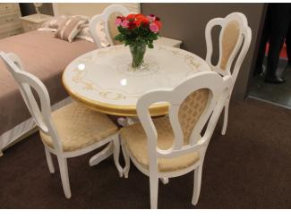 Мебельная выставка Москва: стол, стулья - Мебельная фабрика «ИнтерДизайн»