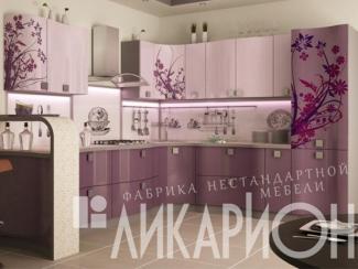 Кухня угловая «Фото на пластике» - Мебельная фабрика «Ликарион»