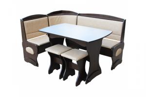 Кухонный уголок Мираж большой - Мебельная фабрика «Мебельный Арсенал»