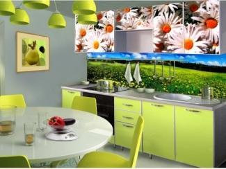 Зеленая кухня Модерн 12