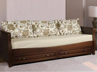 Кровать Скай 4 массив бука - Мебельная фабрика «Диамант-М»