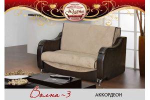 Диван прямой Волна-3 - Мебельная фабрика «ЮлЯна»