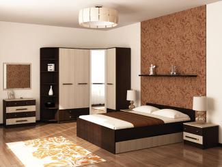 Спальня  Вербена-1 - Мебельная фабрика «Первомайское»