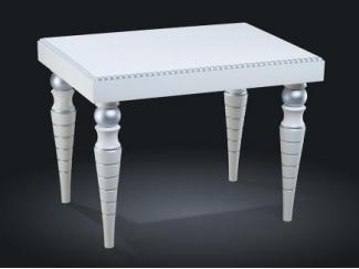 Стол журнальный с серебром арт.736 - Мебельная фабрика «Уфамебель»