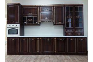Кухня прямая Портофино Люкс - Мебельная фабрика «Буденновская мебельная компания»