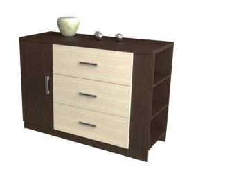 Комод 3 ящ 1д - Мебельная фабрика «Висма-мебель»