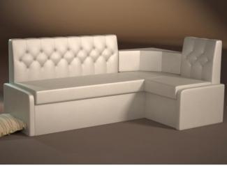 Белый кухонный уголок Грация 1 - Мебельная фабрика «Успех»