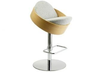 Современный барный стул ABS - 4087 - Мебельная фабрика «Металл Плекс»