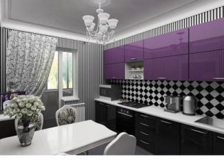 Красивая прямая кухня - Мебельная фабрика «Вектра-мебель»