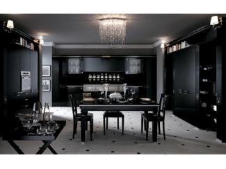 Черная кухня Классика в модерне - Мебельная фабрика «Мебель России»