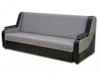 Серый прямой диван Дивас 144  - Мебельная фабрика «Магнолия»