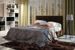 Кровать Альба 2 - Мебельная фабрика «Братьев Баженовых»