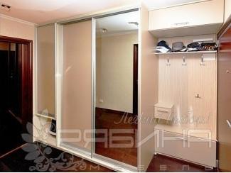 Комбинированный шкаф-купе в прихожую Линда  - Мебельная фабрика «Рябина», г. Москва